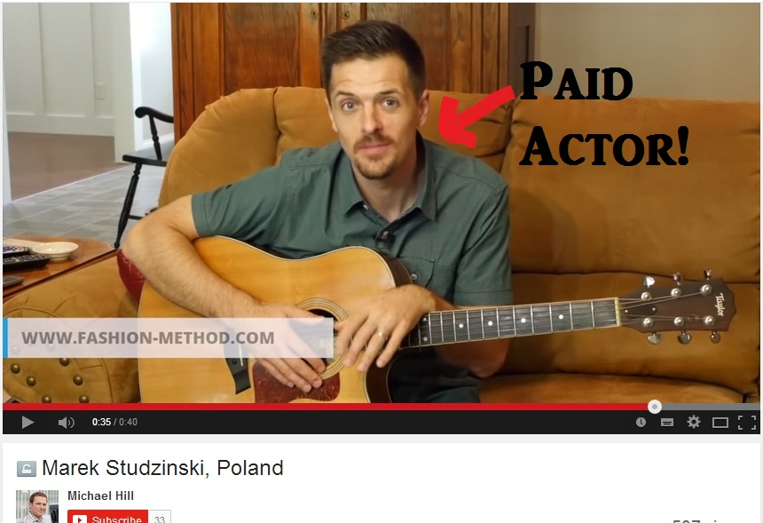 paid actor fashion-method