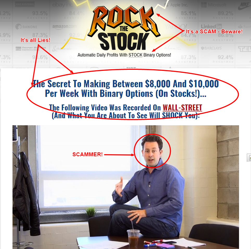 Rock The Stock scam