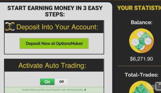 Golden Binary Profits scam review