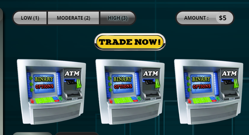 Binary options virtual atm