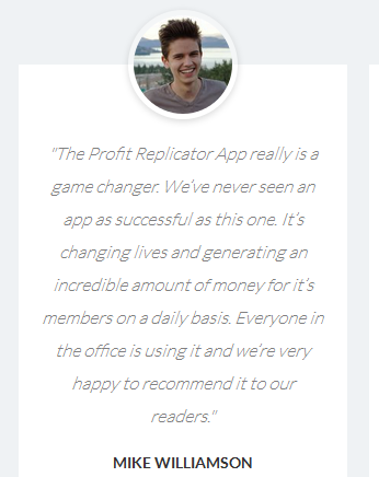Profit Replicator APP