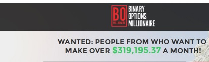 Binary Options Millionaire Scam