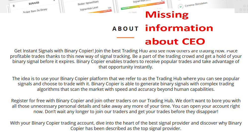 Binary Copier Scam Review