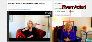 Fiverr actor hexa trader scam