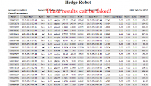 Statement for Hedge Robot