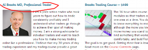 al brooks lying that he is a professional day trader