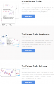 produtos do The Pattern Trader