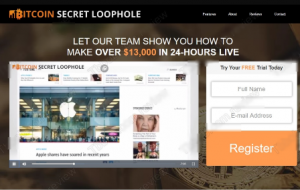 Bitcoin Secret Loophole review