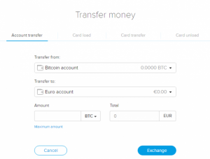 cryptopay uitwisseling