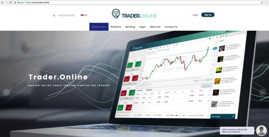 Trader.Online Review -Typical Run of the Mill Scam - Valforex.com