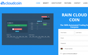 Rain Cloud Coin
