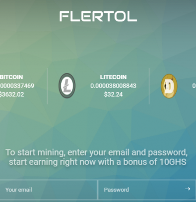 Flertol Review: Must Be a Scam Mining Site