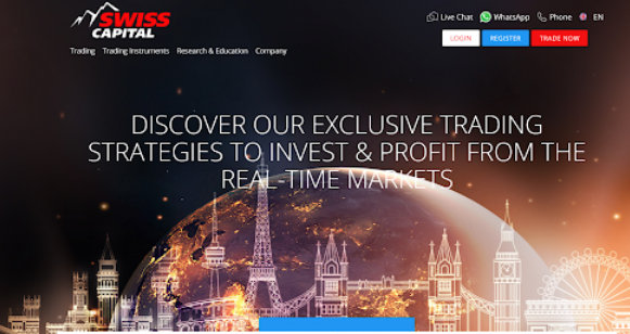 Swisscapitalinvest.co.uk Review, Swiss capital invest Platform
