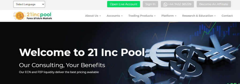 21IncPool Review,21IncPool Platform