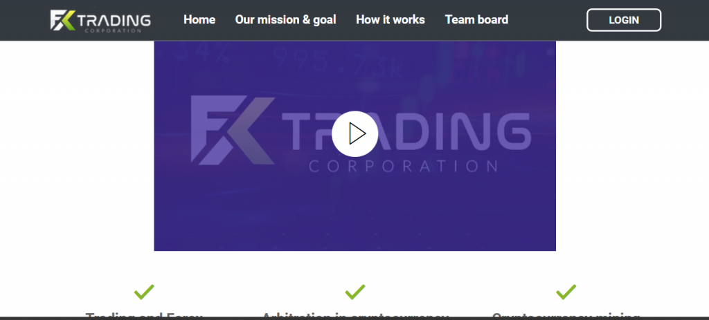 Revisión de estafa de FX Trading Corporation