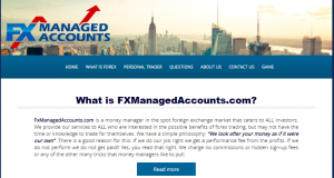 FX Managed Accounts