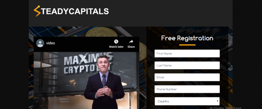 SteadyCapitals Review, SteadyCapitals-platform