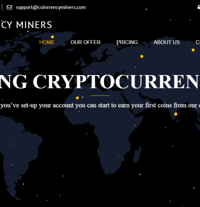 Coinrrencyminers.com Review: Is Coinrrency Miners Scam?