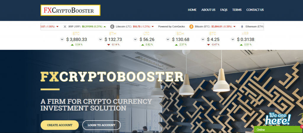 FXCryptoBooster Review