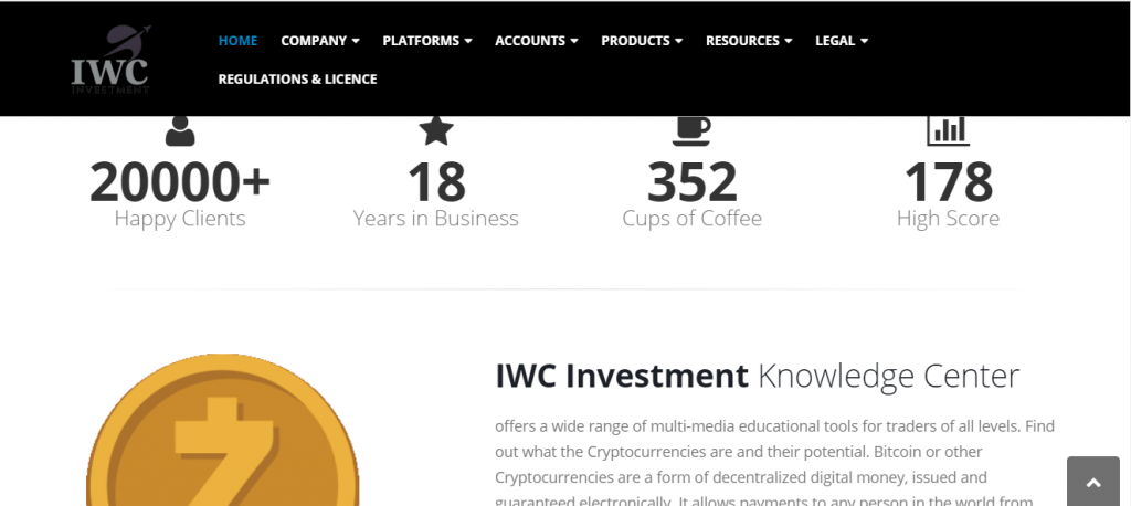 IWC Investment Fake Review