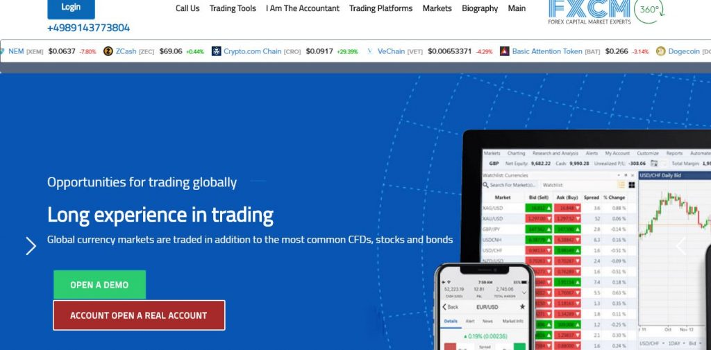 FXCM Fake Review