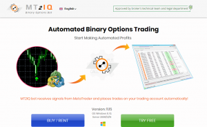 MT2IQ Automate Binary Options Trading