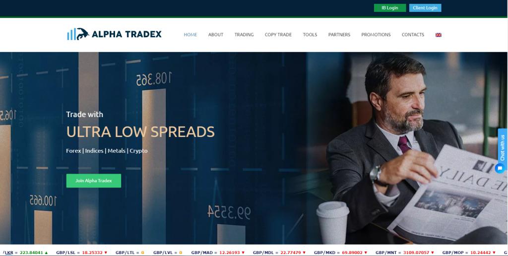 Alpha Tradex Review