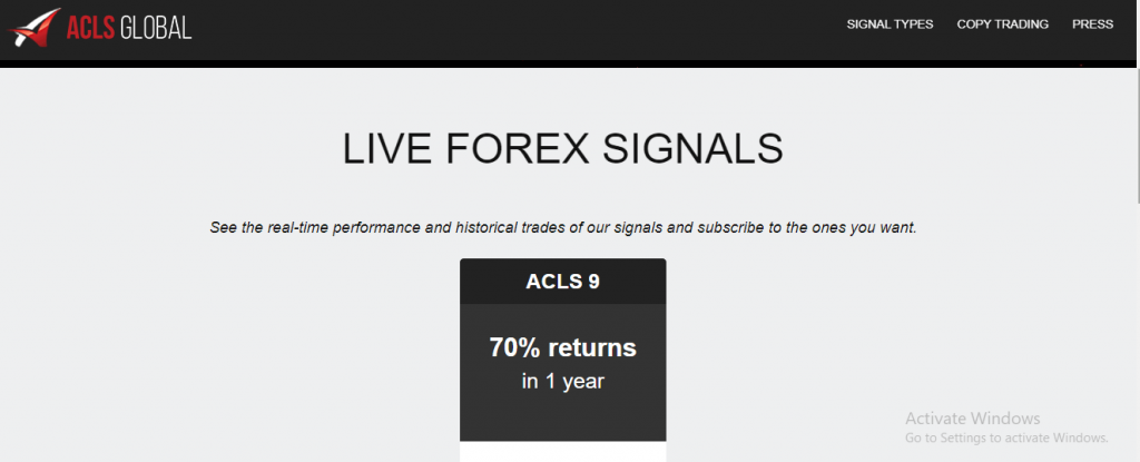 ACLS Global Limited Review, Aclsglobal.com Platform