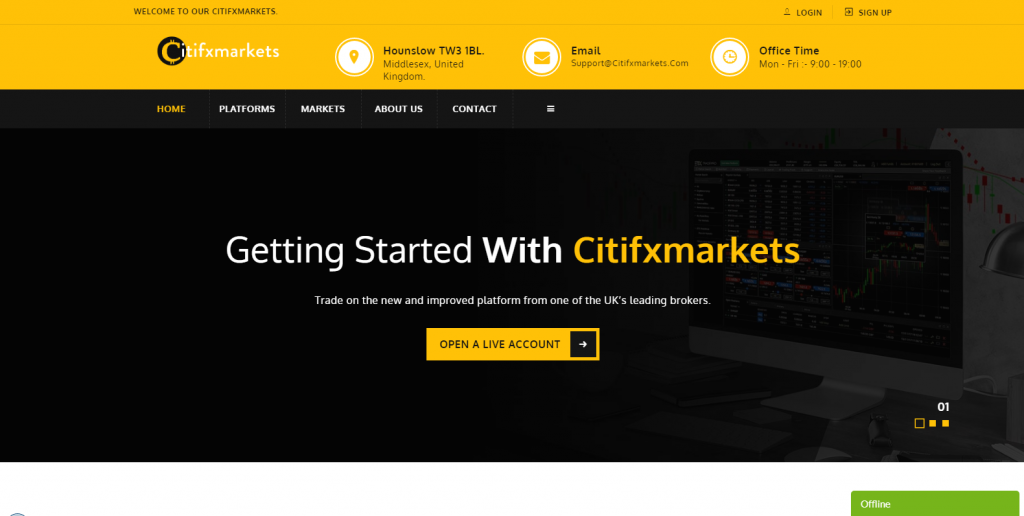 CitiFXMarkets Review