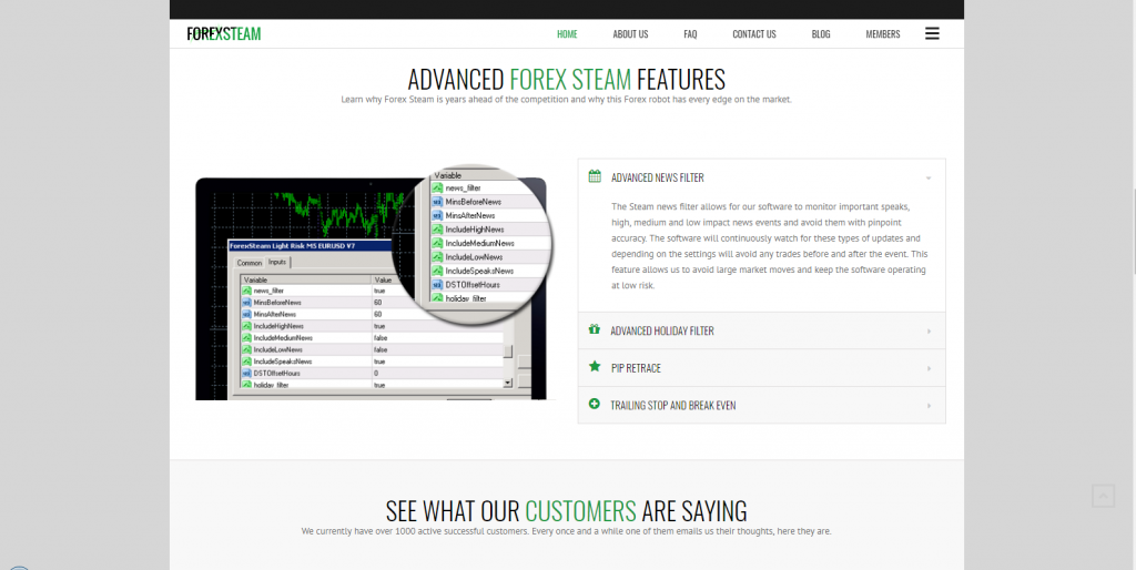 Forex Steam Robot