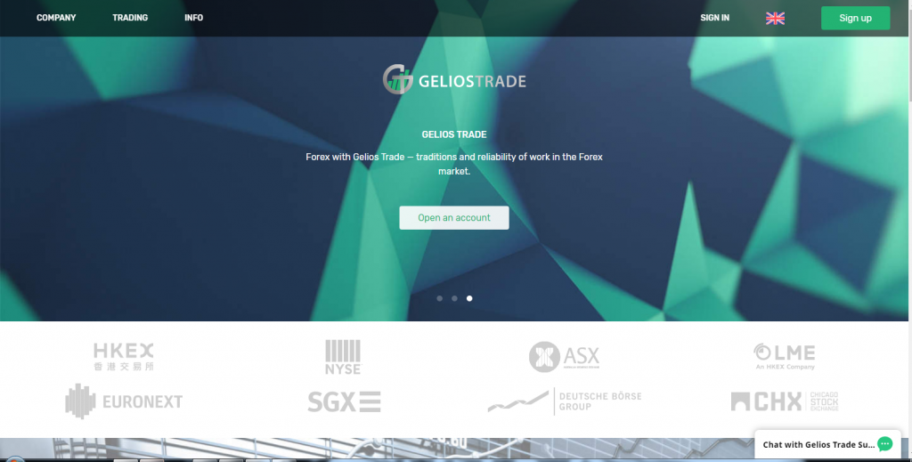 Gelios Trade Review