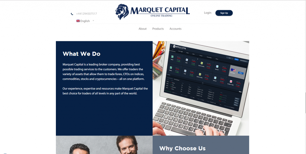 Marquet Capital Scam Обзор