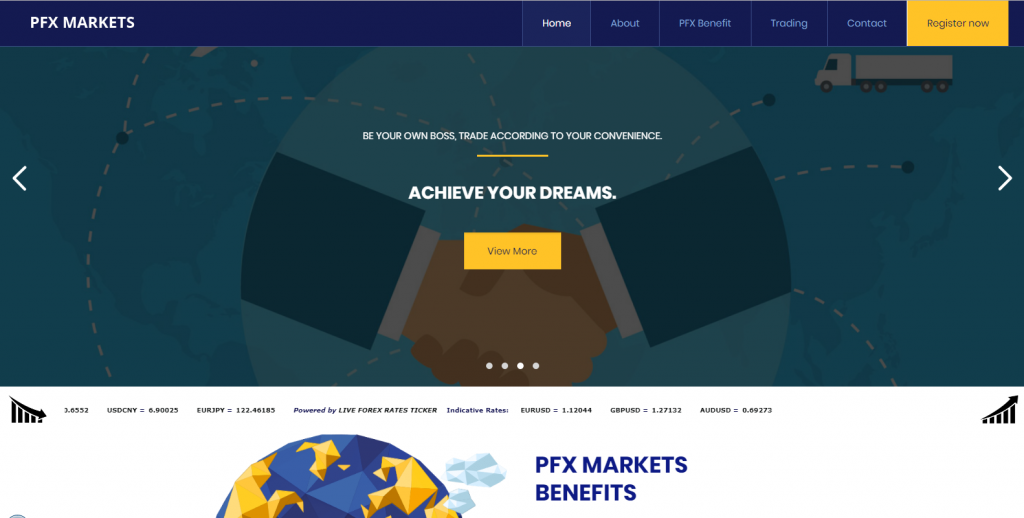 PFX Markets Fake Review