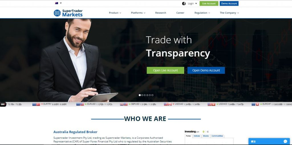 SuperTrader Markets Review