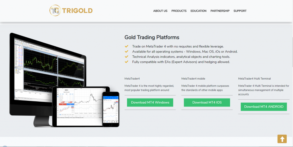 TriGold Scam Review