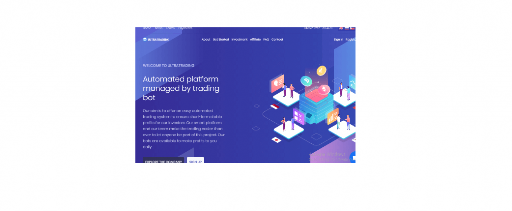 Ultra Trading Review ، منصة Ultratrading.io