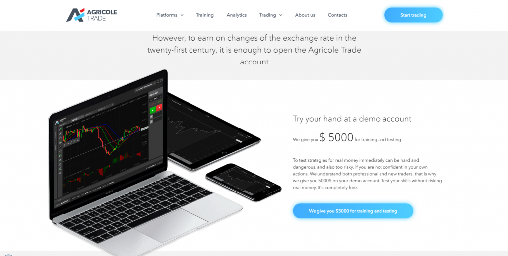 Agricole Trade Scam