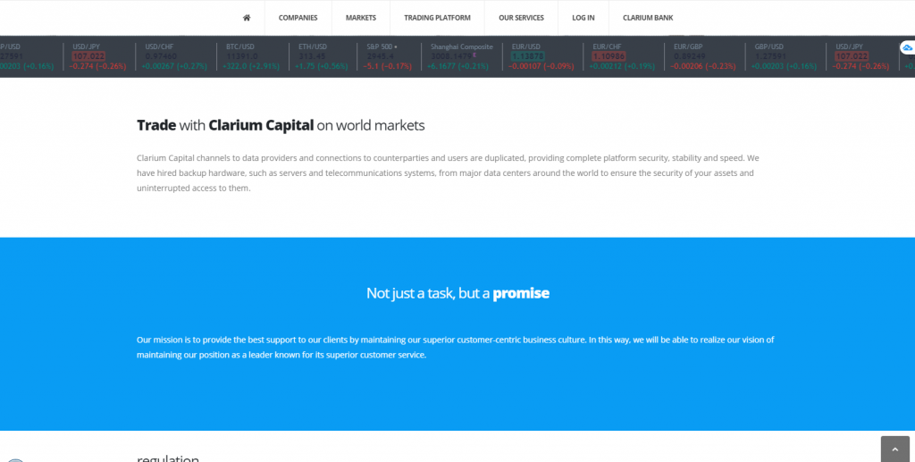 Clarium Capital Broker Review