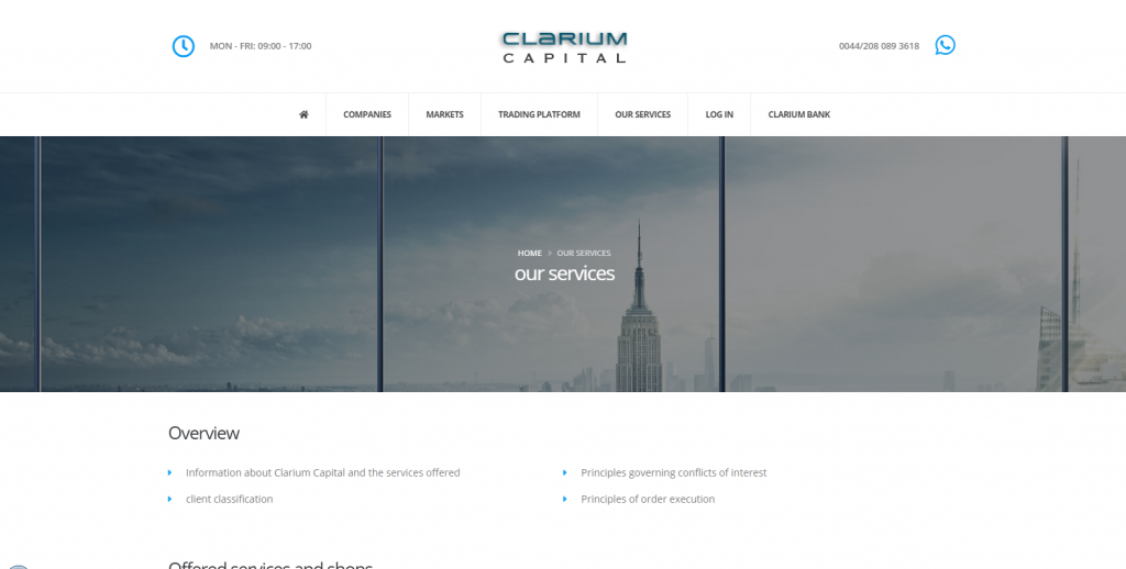 Clarium Capital Scam Review