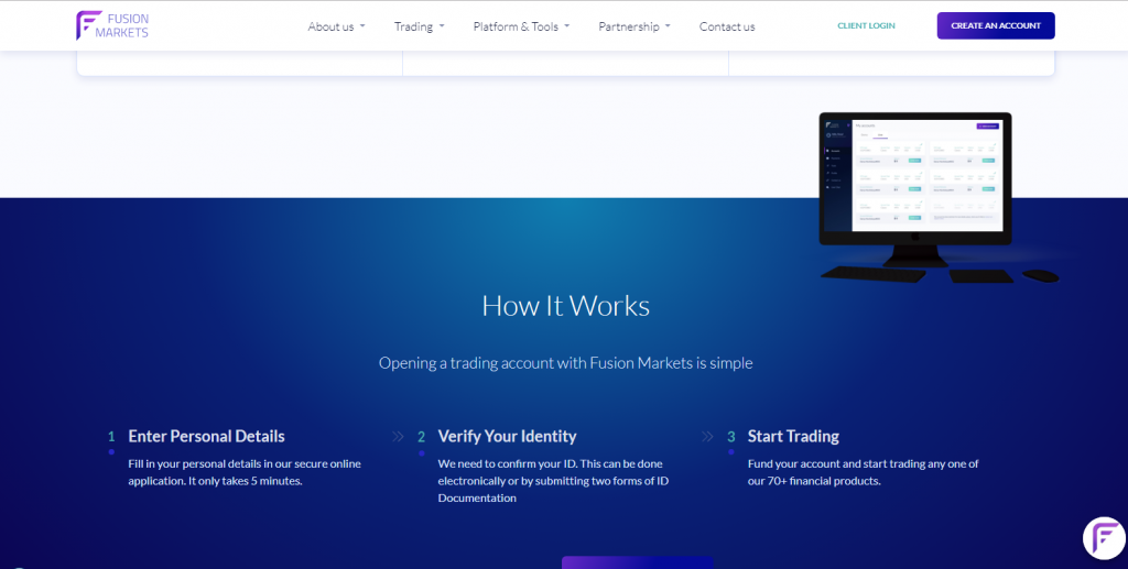 Fusion Markets Forex Review