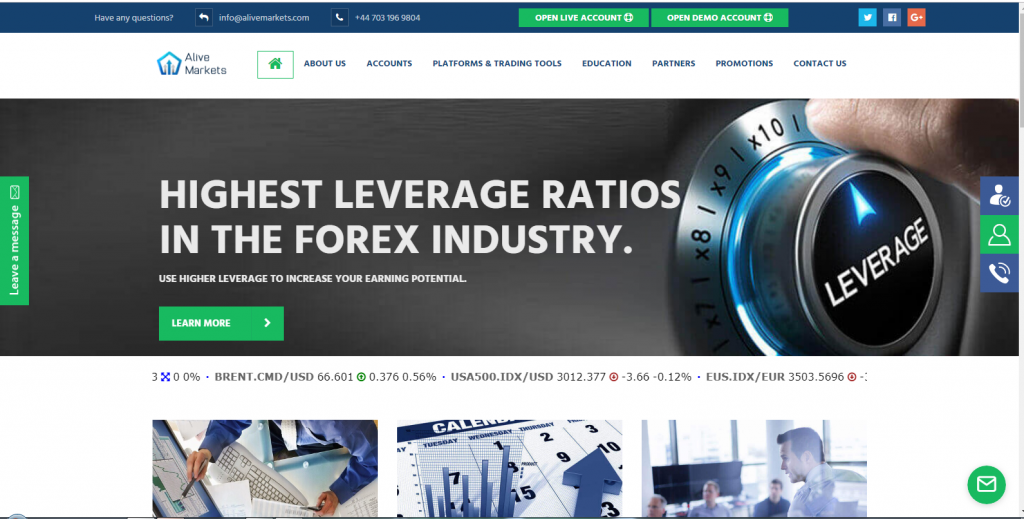 Alive Markets Forex Review