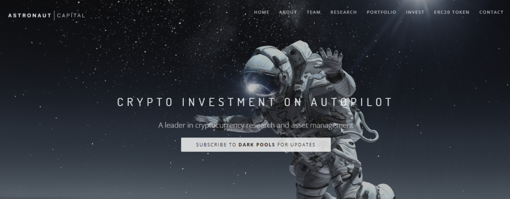 Astronaut Capital Review, Astronaut Capital-Plattform