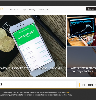CryptoMB Review: Cryptomb.cc Dull Forex Scam