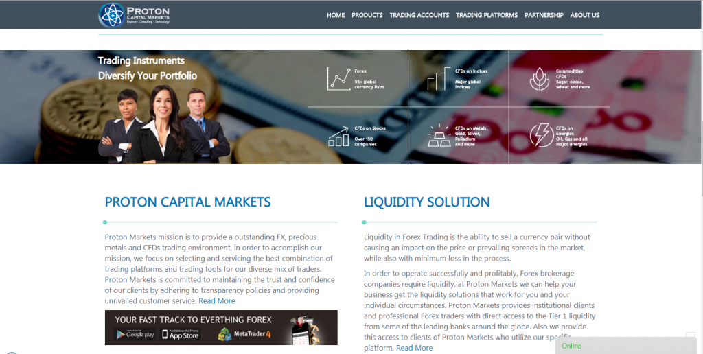 Proton Capital Markets Review