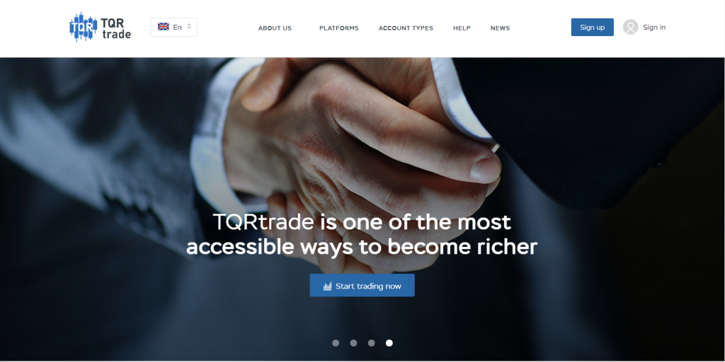 TQR Trade Broker Review