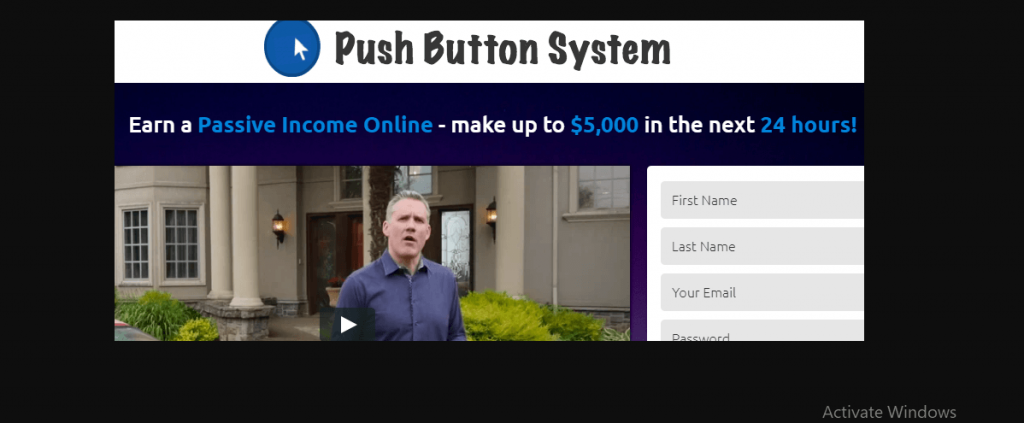 Push Button System Review, Push Button System Platform