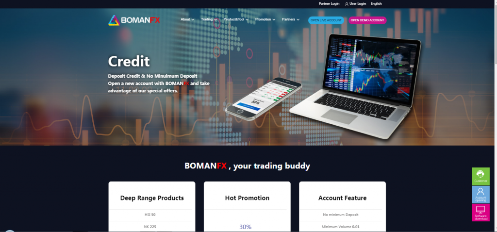 BOMANFX Crypto and Forex Review
