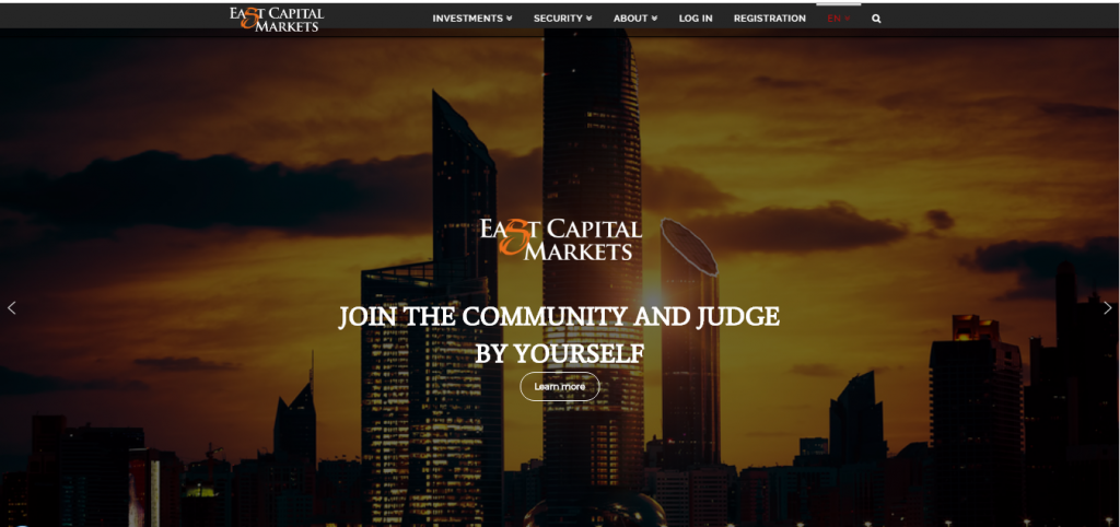 East Capital Markets Broker Review