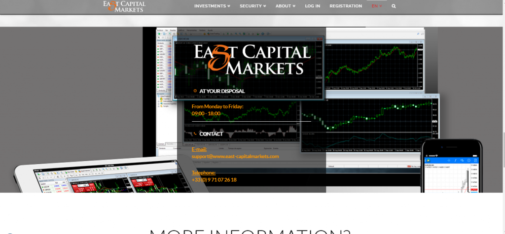 East Capital Markets Forex Review