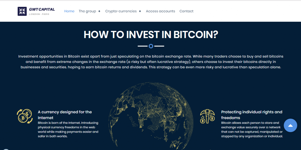 Is GWT Capital a scam or legit broker?